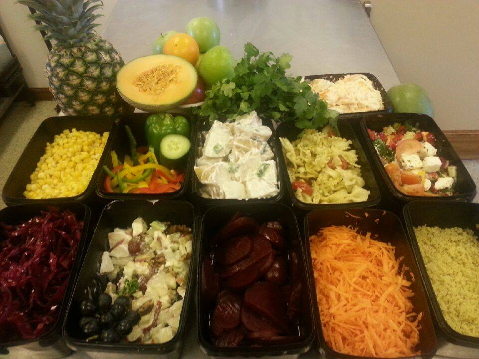 Top Nosh Mix your Own Salad