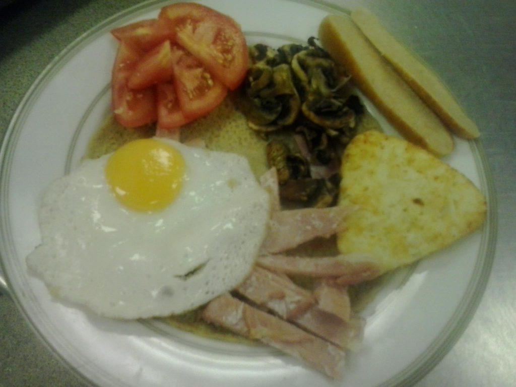 Full English Breakfast from Top Nosh Congleton
